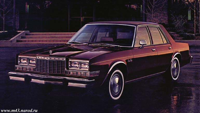Plymouth Granfury Sed 82 01
